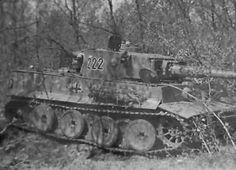 Tiger tank from the schwere panzer abteilung 503 #222.