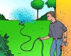 Hoe hou je je grasmat het hele jaar - en zeker in de zomer - in vorm? Volg deze 6 stappen! #DIY