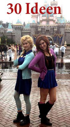 http://de.lady-vishenka.com/anna-i-elza-kostyum-dlya-devushki-hellouin/  4. Anna und Elsa — Halloween / Karneval Kostüm für Mädchen