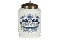 Pharmacy Jar, Absinthii (Authentic Models USA) @ OneKingsLane (https://www.onekingslane.com/product/13434/571015)