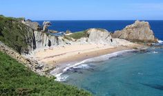 Playa de Covachos, Santa Cruz de Bezana. #Cantabria #Spain #Travel