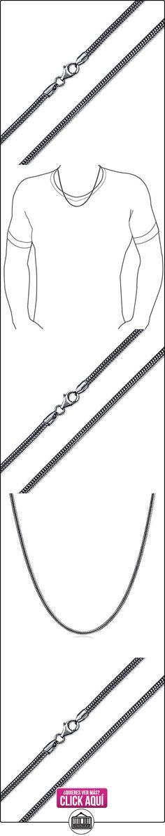 Bling Jewelry Plata Esterlina Collar de Cadena Serpiente Compatible con 3mm  ✿ Joyas para niñas - Regalos ✿ ▬► Ver oferta: https://comprar.io/goto/B0043JT8Z2