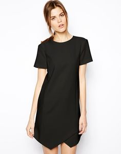 Buy ASOS Clean Shift Dress at ASOS. Get the latest trends with ASOS now. Skater Dress, Dress Skirt, Shirt Dress, Revolve Clothing, Well Dressed, Pretty Outfits, Casual Chic, Short Sleeve Dresses, Short Skirts