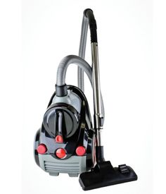 The Ovente ST2000 in black, silver and red is a superior cyclonic vacuum that uses enduring bagless intend. It uses Hepa filter that protects against over 99 percent dust and allergens and 1200-1400-watt of power- this cyclonic vacuum provides simple and suitable way of cleaning hard to reach areas.