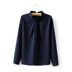 Aliexpress.com : Buy Top Quality Women Chiffon Blouse 2015 Spring Elegant Shirt Office OL Blouse Long Sleeve Laciness Neck Shirt Brand Tops RR D005 from Reliable Blouses & Shirts suppliers on Friends of the Shanghai International Trade Co. Creek  | Alibaba Group