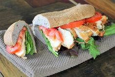Maria's Nutritious and Delicious Journal: chicken- healthified sub