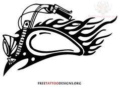 Image from http://www.tattoostime.com/images/311/flaming-bike-tank-harley-davidson-tattoo-design.jpg.
