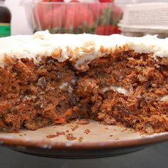 Super-Moist Diabetic Spiced Carrot Cake Recipe