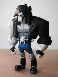 mattel justice league unlimited figure: lobo (mattycollector.com exclusive, 2010) | Flickr - Photo Sharing!