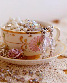 pretty teacup jewels