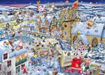 I Love Christmas-Comedy Christmas Jigsaw by Artist Mike Jupp-1000pc Jigsaw
