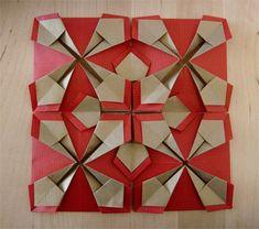 Reliefbild 2 (Flat modular origami unit)