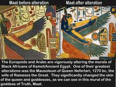 "Anybody wanna say that maybe they ""restored"" it😂 you mentally retarded. Tryna cover up the fact y'all have no culture. Ancient Egypt, Ancient History, Kemet Egypt, Creepy, Black History Facts, African Diaspora, African American History, Native American, Before Us"