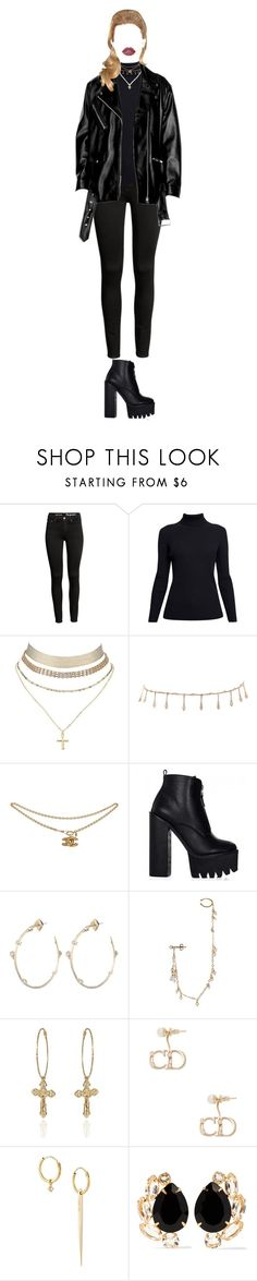 """""""-cute"""" by xxzodiacentertainmentxx ❤ liked on Polyvore featuring Rumour London, Charlotte Russe, Luv Aj, Alexis Bittar, Sweet Pea by Stacy Frati, Christian Dior, Wouters & Hendrix Gold, Bounkit and Lime Crime"""