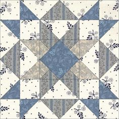 11-24. Turkey's Dilemma. According to Maggie Malone, this block is a recent addition to our quilting repertoire, first published in 1982 in Stitch and Sew Quilts (designed by Ruth M Swasey).