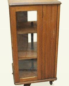 Revolving Book Cabinet/Table Unit Late 19th Century #vintagefurniture  #homedecor #instadecor #