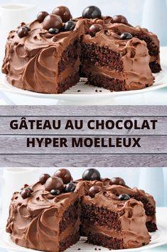 Cupcake Cake Designs, Cupcake Cakes, Gateau Cake, Cake Receipe, Moist Cakes, Easy Desserts, Smoothie Recipes, Nutella, Chocolate Cake