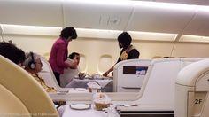 A final big splurge using US Airways miles - Thai Airways First Class from Paris to Bangkok then back to Frankfurt