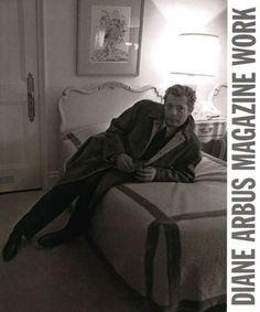 ダイアン・アーバスの作品集「 Magazine Work」雑誌に掲載されたポートレートの作品集。写真に添えられたエッセイも素敵