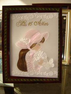 tarjeta  de invitacion invitacion mis 15 años en rosado papel pergamino 180gr repujado
