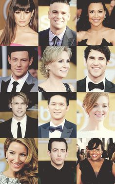 The beautiful cast of Glee.