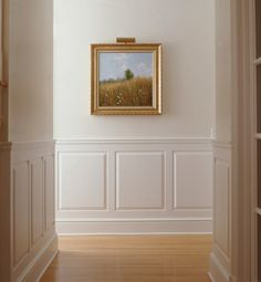 Decorating Terms You Need to Know <3 Wainscoting ~ Originally made of wood and used on the inside walls of a home for insulation purposes, wainscoting can be purchased in pre-fab boards or panels and used as a decorative element to add architectural interest to rooms and hallways.