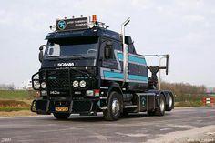 Scania 143M. Bergins truck.