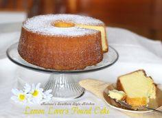 Melissa's Southern Style Kitchen: Lemon Lovers Pound Cake