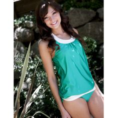 Here's another favorite: Blousy Suit, Bottoms, Emerald Green. It also comes in black and navy.