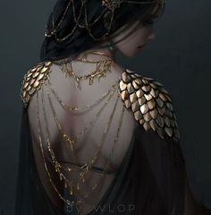 Ceremonial by wlop on DeviantArt Fantasy Gowns, Fantasy Girl, Mode Streetwear, Streetwear Fashion, Street Style Photography, Hipster, Medieval Fantasy, Art Music, Costume Design