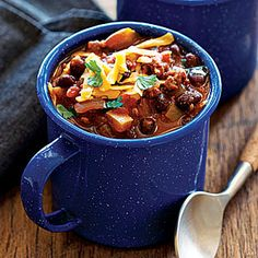Turkey Black Bean Chili | MyRecipes.com