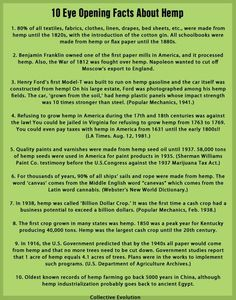 educate yourself with this, hemp is an answer