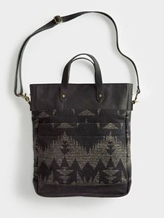 Love this! great outside pockets. monument laptop bag / the portland collection from pendleton