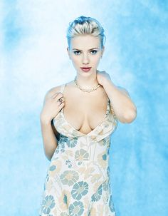 Scarlett Johansson in 2004 via Classy Bro