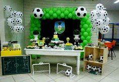 Festa com tema esportes!  Sports birthday party!