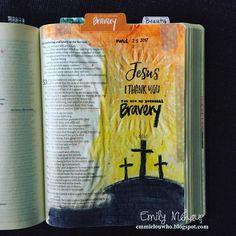 "10 Likes, 1 Comments - Emily Niehaus (@emily_niehaus) on Instagram: ""Bible journaling reflecting on Isaiah 53 #illustratedfaith #uninvitedbook #biblejournaling…"""