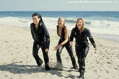 Charlie's Angels with Lucy Liu and Drew Barrymore