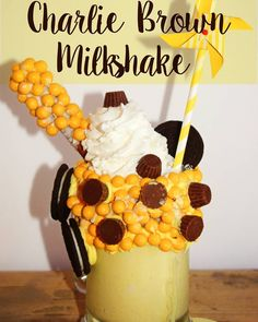 How about a Charlie Brown Milkshake to celebrate the arrival of Spring!! What are you doing to celebrate the nice weather? Flying kites? Riding your bikes? Get outdoors!! #milkshakemadness #milkshakes #milkshake #Charliebrown #Snoopy  #peanutsgang #PEANUTSinsiders #peanutsmovienight #Peanuts #familymovienight #spring #celebrate #sweeets #eeeeeats #freakshakes #freakshake #foodphotography #nomnomnom #dessert #sogood #sweettooth #crazymilkshakes #drinkporn #delicious by tiarastantrums