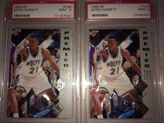 Kevin Garnett Minnesota Timberwolves Boston Celtics ROOKIE basketball card LOT !