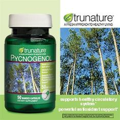 trunature® Pycnogenol® 50 mg, 50 Banded Capsules on sale at Costco