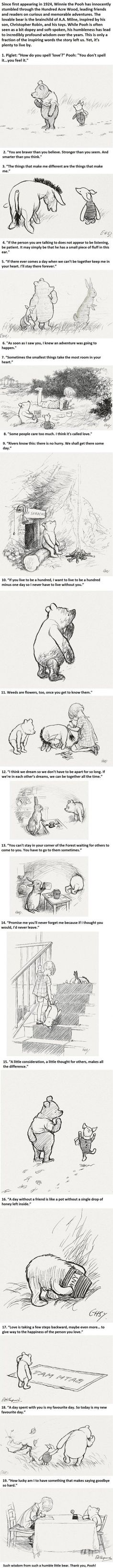 19 Incredibly Wise Truths We Learned From Winnie The Pooh -   Misc
