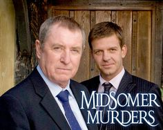 Midsommer Murders - Detective Chief Inspector Tom Barnaby ( John Nettles ) and Detective Sergeant Ben Jones