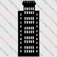 Pegame.es Online Decals Shop  #city #skyscrapers #tower #building #vinyl #sticker #pegatina #vinilo #stencil #decal