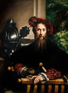 Parmigianino's 1524 portrait of Gian Galeazzo Sanvitale, Count of Fontanellato.