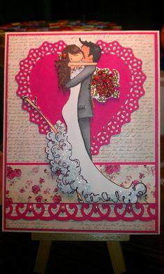 Upton's Nut Farm--Stamping Bella--Brett and Brenda get Married--Pink