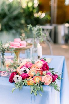 Cheerful Havana Inspired Engagement Photos - Inspired By This Magenta Wedding, Floral Wedding, Wedding Colors, Wedding Flowers, Pink Wedding Receptions, Wedding Table, Wedding Decor, Wedding Ideas, Pink Wedding Stationery
