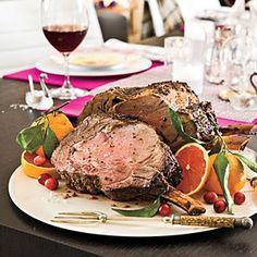 Fennel-Crusted Rib Roast   MyRecipes.com