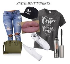 """Coffee Please"" by nicky-kissel ❤ liked on Polyvore featuring Vans, Givenchy, adidas, Kylie Cosmetics and Benefit"
