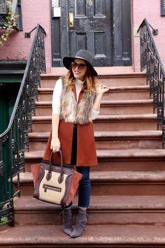 #vest #faux #fur #fall