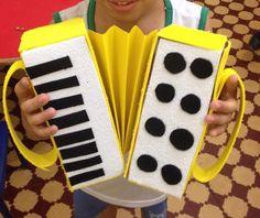 Instrumento musical - Sanfona